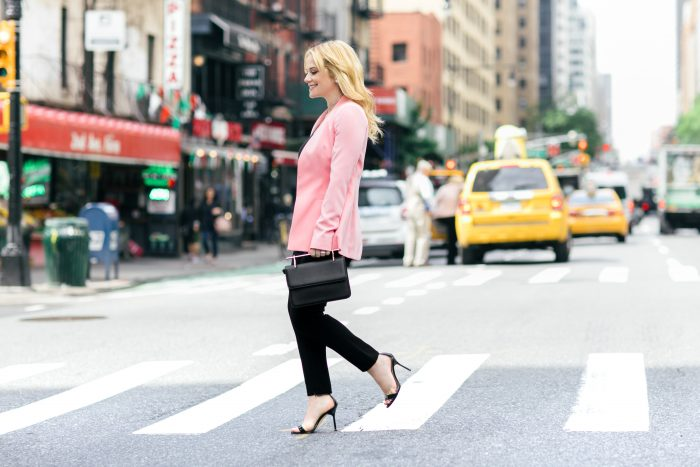 The Pink Blazer: Simple and Bright - Stylists to a T