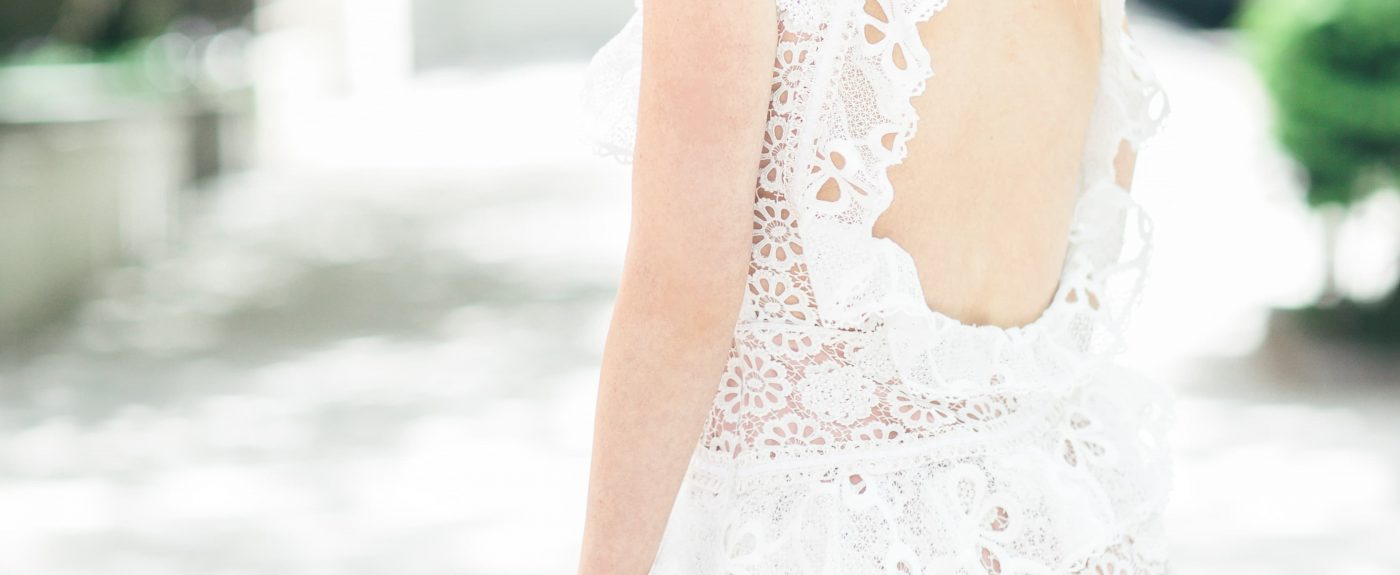 Floral Lace Dress with Ruffles by Alexis - Stylists to a T