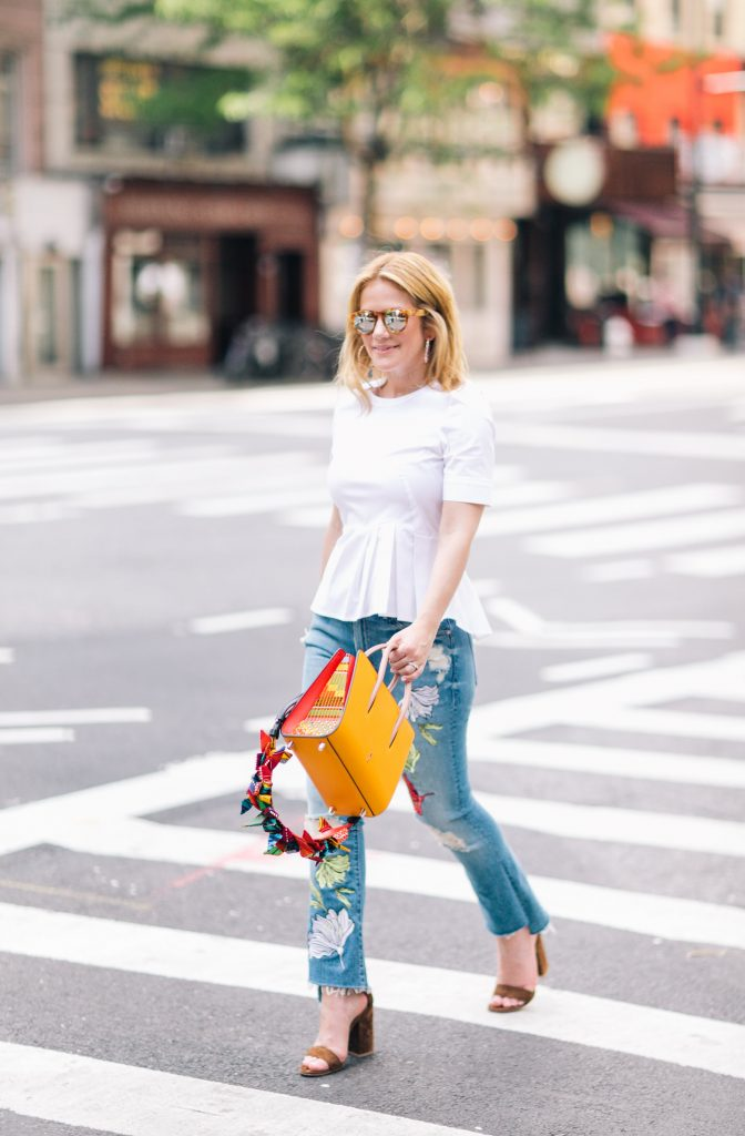 Floral Patches on Jackets & Denim - Stylists to a T